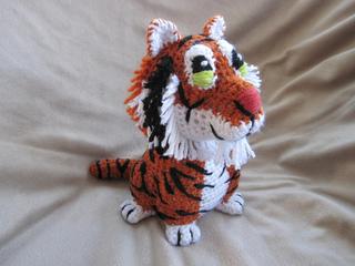Ravelry: Tiger pattern by Christine Lucas