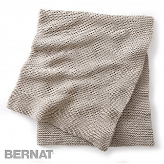 Ravelry: Quiet Times Knit Afghan pattern by Bernat Design ...