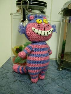 Cheshire Cat Amigurumi : Ravelry: Cheshire Cat Amigurumi pattern by Sayjai ...