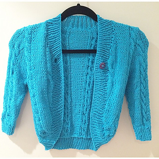 Lincraft Knitting Patterns : Ravelry: Babys Cable Bolero pattern by Lincraft