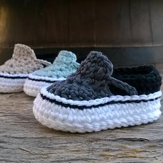 Crochet Baby Shoes Vans