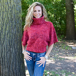 Knitting Patterns For Turtleneck Sweater : Ravelry: Turtleneck Sweater pattern by SKEINO LLC