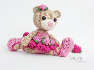 Crochet Ballerina Bear Free Pattern : Ravelry: Bibi the Ballerina Bear pattern by Maarja H?rsing ...