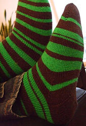 Knit Pi Socks