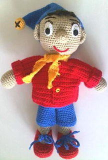 Noddy Doll Knitting Pattern : Ravelry: Noddy pattern by Shelley