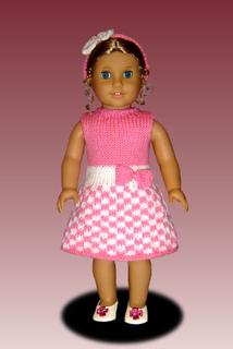 Ravelry: Knitting Pattern for Dolls. Fits American Girl ...
