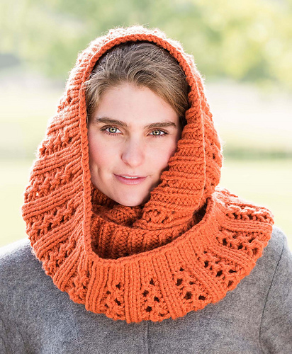 Double Lace Rib Cowl #702 PDF