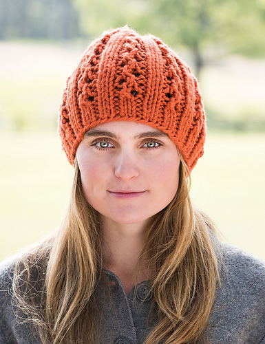 Double Lace Rib Hat #703 PDF