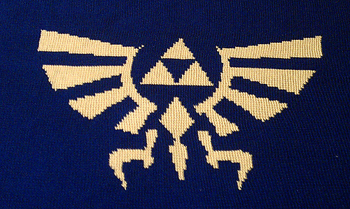 Ravelry Hylian Royal Crest Legend Of Zelda Nintendo