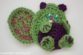 Ravelry: Baby Beaver Crochet Applique pattern by Jane ...