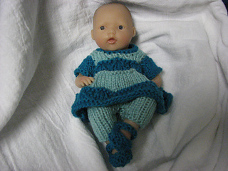 Ravelry Two Coloured Dress And Leggings Set For 4 7