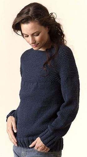 Free Pullover Knitting Patterns : Ravelry: Torino Bulky Circular Pullover pattern by Tahki Stacy Charles