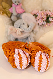 Pumpkin Slippers PDF