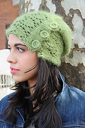 Snowdrop Slouch Hat PDF