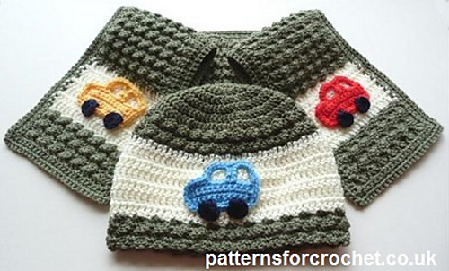 Free Crochet Pattern Scarf Hat : Craft Passions: Childs Hat & Scarf# Free # crochet ...