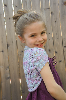 Childrens Shrug Knitting Pattern : Ravelry: Brynna Shrug pattern by Tanis Gray