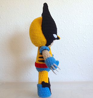 Ravelry: Wolverine Inspired Amigurumi Doll pattern by Thu ...