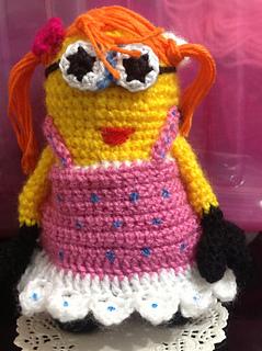 Ravelry: 2 IN 1 MINION GIRL Amigurumi Crochet PDF Pattern ...