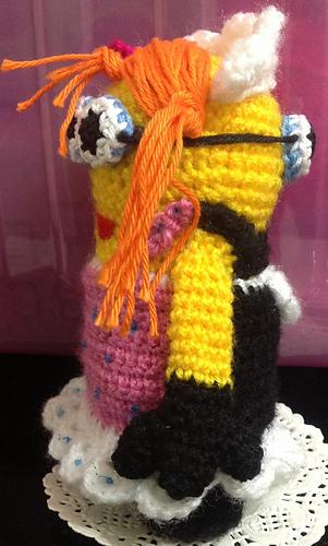 Amigurumi Minion Girl : Ravelry: 2 IN 1 MINION GIRL Amigurumi Crochet PDF Pattern ...
