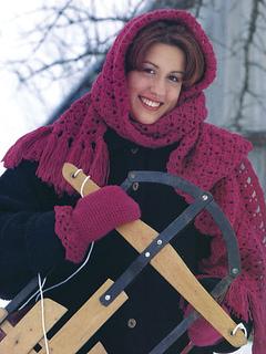 Crochet mitten patterns free, including a crochet scarf