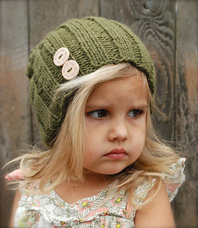Knitted Hat Patterns For Girls : Ravelry: Blaine Slouchy pattern by Heidi May
