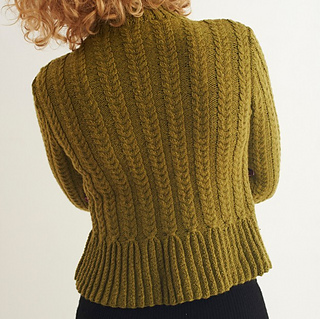 Peplum Knitting Patterns : Ravelry: Peplum Cardigan pattern by Amanda Crawford