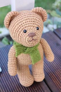 Ravelry: Amigurumi Crochet Teddy Bear pattern by ...