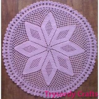 Crochet Pattern For Small Shawl : Ravelry: Crochet Shawl - Star TC116 pattern by Kathryn John
