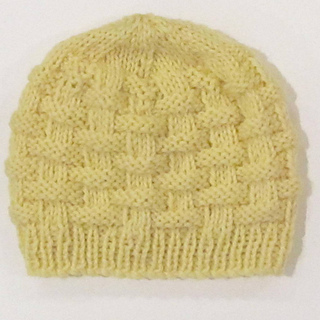 Knitting Patterns For Small Hats : Ravelry: Metaphor Yarns Baby Basket Hat pattern by Metaphor Yarns