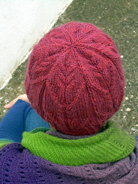 """""""高雅""""的帽子、手套和脖套 - maomao - 我随心动"""