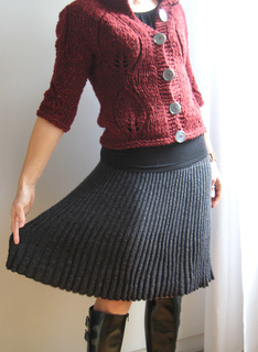 Ravelry Bulgarian Knitted Skirt ブルガリアの手編みスカート Pattern By