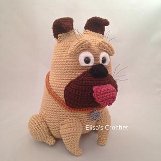 Amigurumi Bulldog Pattern : Ravelry: MEL bulldog amigurumi pattern by Elisas Crochet
