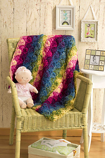 Ravelry Vanna White Bright Baby Blankies Patterns