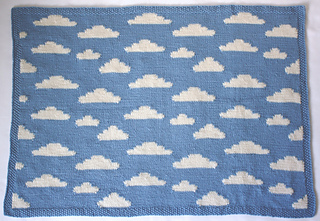 Knitting Patterns For Baby Clouds Yarn : Ravelry: Fluffy White Clouds pattern by Vikki Bird