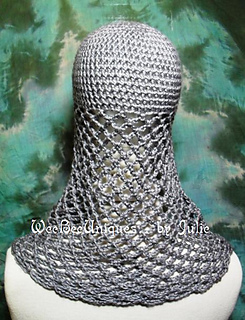 Ravelry Chainmail Coif Knight Helmet Hat Pattern By