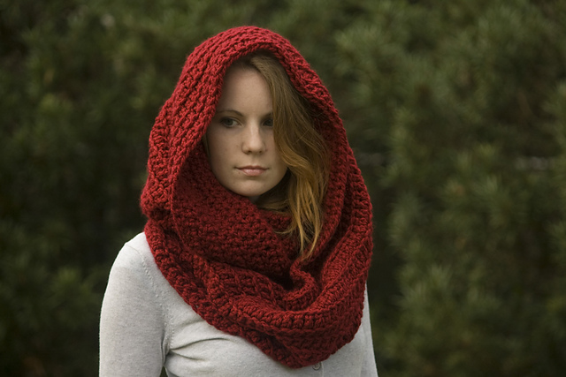Oversized Infinity Scarf, Chunky Infinity Scarf by Melissa Grice ($4.00)