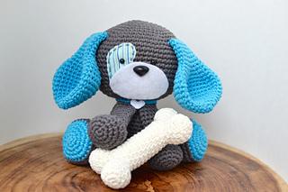 Domino The Dog Amigurumi Crochet Pattern : Ravelry: Amigurumi Domino The Dog pattern by Keke Grace