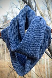 Herringbone Infinity Scarf Knitting Pattern : Ravelry: Herringbone Infinity Scarf pattern by Yarnthology
