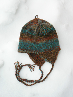 Earflap Hat Knitting Pattern Bulky Yarn : Ravelry: Very Basic Bulky Ear-flap Hat pattern by Anne ...