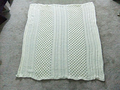 Irish Knit Baby Blanket Pattern : Ravelry: Irish Eyes Baby Blanket pattern by Brenda Lewis