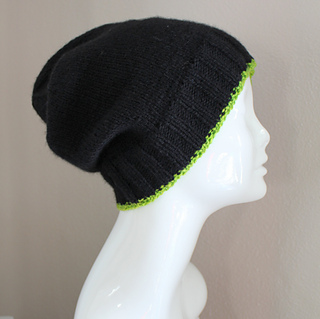 Ravelry: Valentino Beanie Hat Not Knitted in the Round ...
