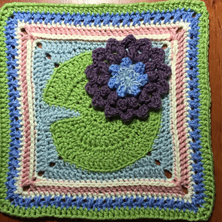 Ravelry Water Lily Pad Granny Square Pattern By Tamara Adams