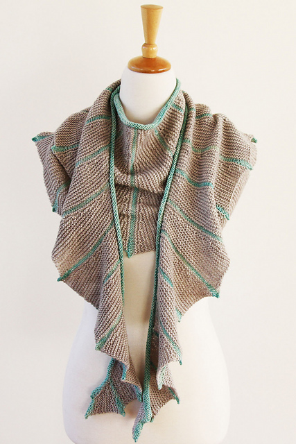 Knit Dragon Wings Shawl Craft Hackers