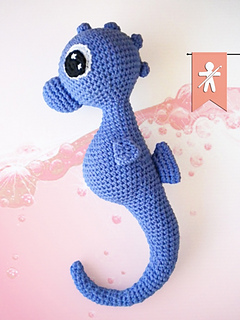 Free Amigurumi Seahorse : Ravelry: Charly Seahorse pattern by MyGurumi