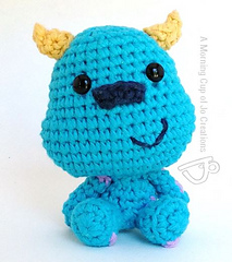 Amigurumi Monsters Inc : Ravelry: Monsters Inc. Baby Mike and Sulley pattern by ...