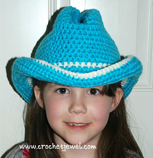Craft Passions: Cowboy or Cowgirl Hat# Free # crochet ...