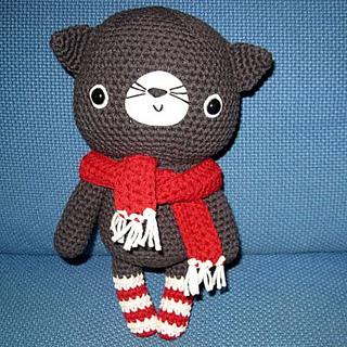 Ravelry Amigurumi Cat : Ravelry: Amigurumi Cat pattern by Ana Paula Rimoli