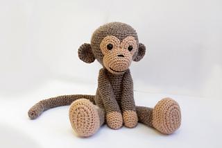 Monkey Amigurumi Knitting Pattern : Ravelry: Amigurumi Monkey pattern by Anat Tzach
