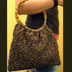 Nordstrom Crochet Hobo Bag Pattern : CROCHET PURSE WITH BAMBOO HANDLES ? Only New Crochet Patterns