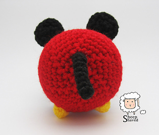 Ravelry: Mickey Mouse Tsum Tsum pattern by Sheep Shaved